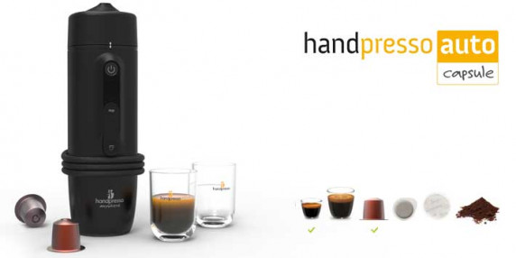 Автомобильная капсульная эспрессо кофеварка Handpresso Auto