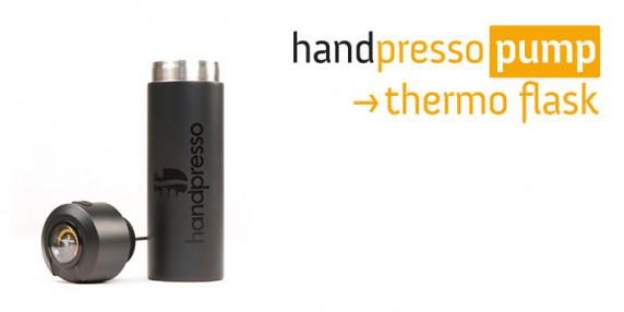 термос Handpresso, черный